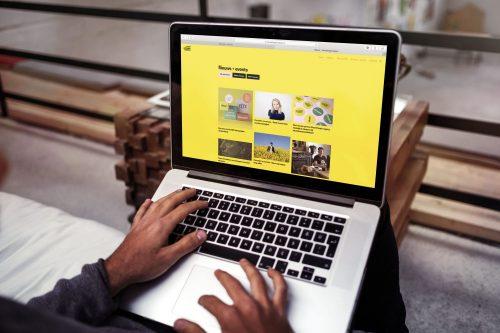 mockup mooiedingenmakers website