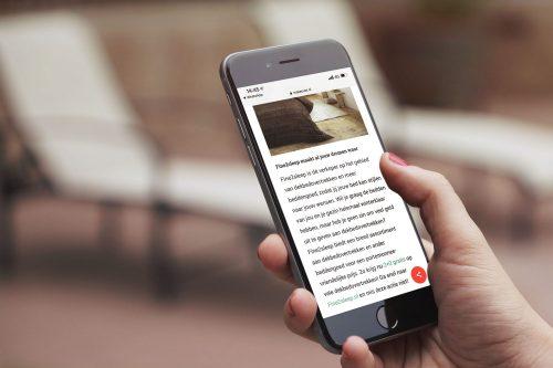 online artikel over beddengoed fine sleep in opdracht van makeover nl